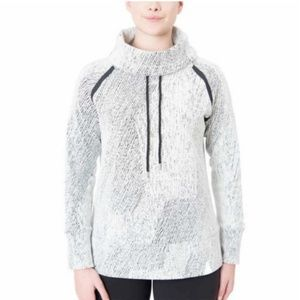 Kirkland Ladies' Jacquard Pullover Sweater White
